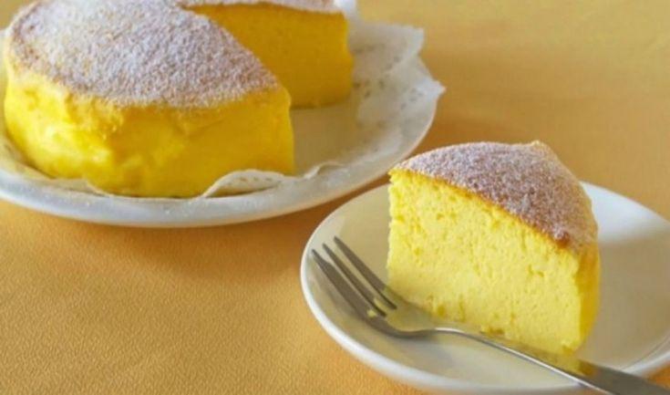Το πιο αφράτο γλυκάκι που φαγάτε ποτέ με τρία μονο υλικά!