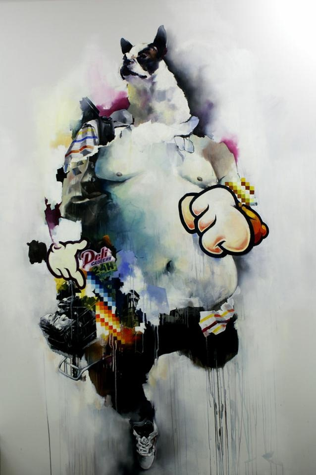 Obesitar the hungry by Joram Roukes