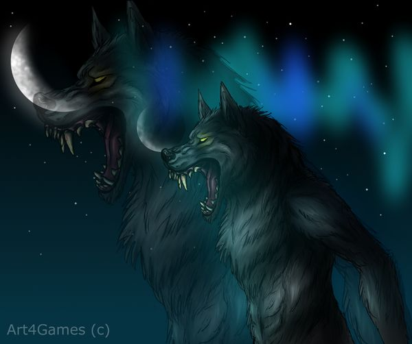 Skyrim Werewolf By Art4games On Deviantart Skyrim And Oblivion My