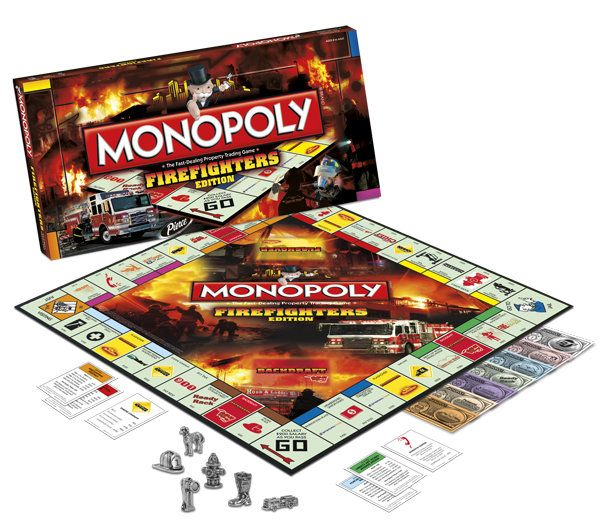 Exceptional Fire Department Christmas Gifts Part - 10: Monopoly Firefighter Edition! Christmas Gift For My Fireman?