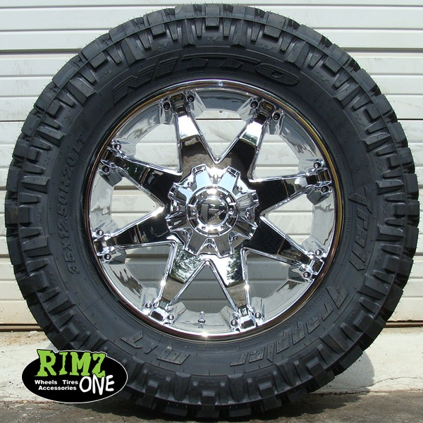 Chevy 2500hd truck rims package