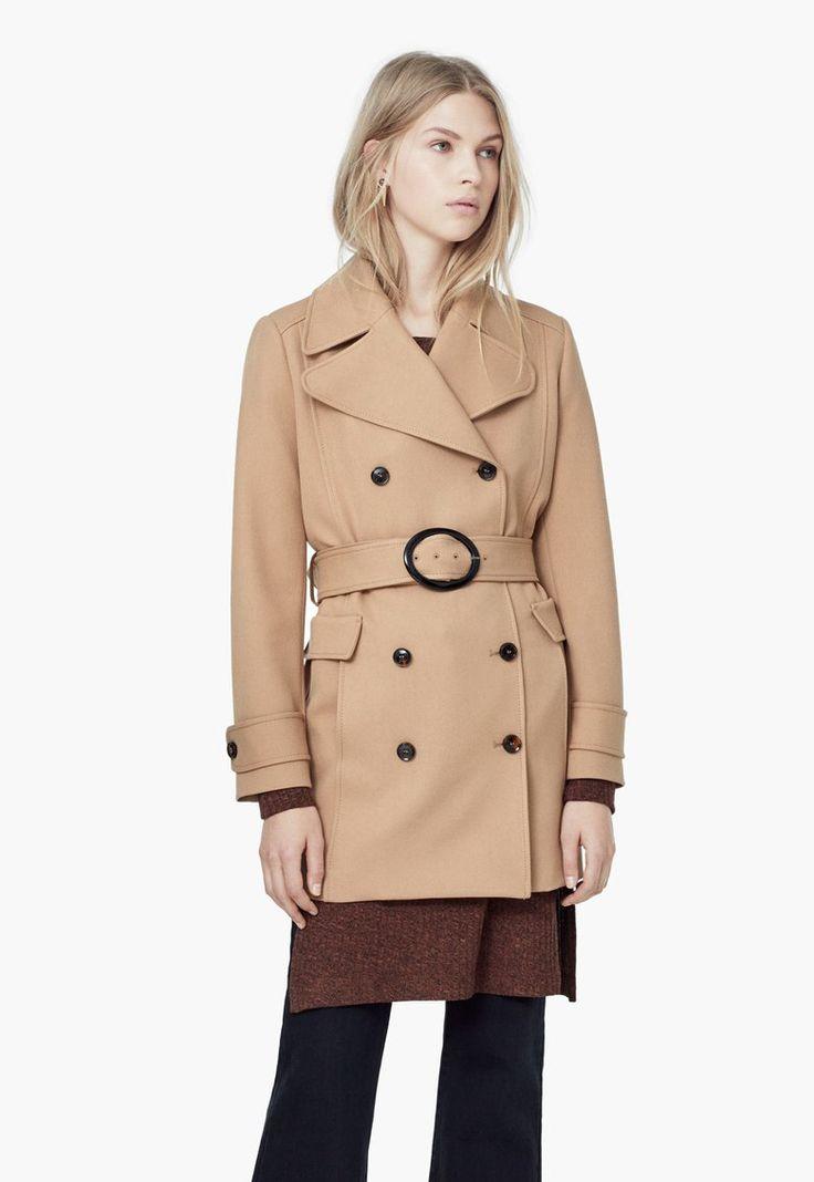 Allen Barna Kabát Övvel a MANGO márkától és további hasonló termékek a Fashion Days oldalán