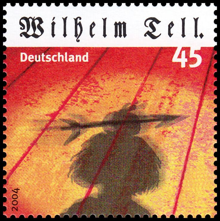 Stamp Germany 2004 MiNr2391 Wilhelm Tell.jpg