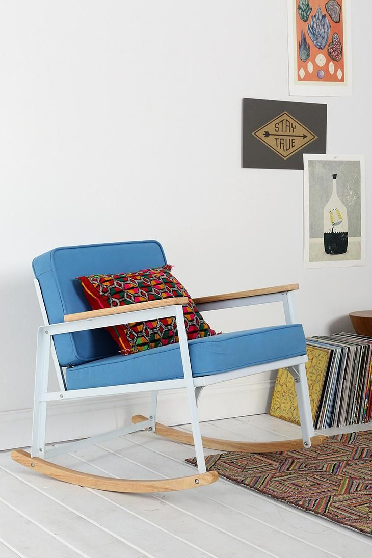 Best 25+ Metal rocking chair ideas on Pinterest | Industrial ...