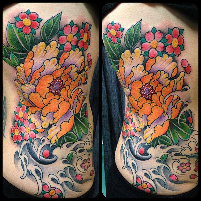 26 Peony Tattoo Designs Ideas: 17 Best Ideas About Japanese Peony Tattoo On Pinterest