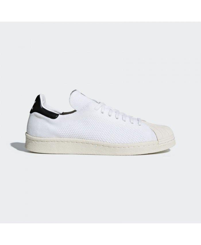 a0329ab1807 Zapatillas Adidas Superstar 80s Primeknit Hombre Off Blanco Off Blanco Core  Negro CQ2231