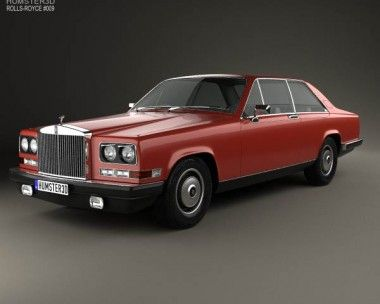 3D model of Rolls-Royce Camargue 1975