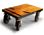 Gym Floor Coffee TableHome, Coffee Tables, Crafts Ideas, Etsy Mirato, Gym Floors, Big Chunk, Floors Coffee, Hhs Gym