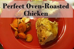 perfect roasted chicken | Recipes | Pinterest