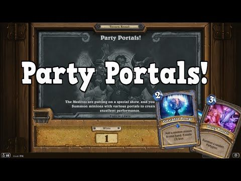 Party Portals - Tavern Brawl [Hearthstone] - YouTube