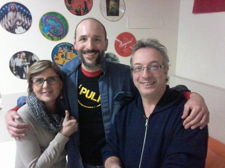 Simone Giusti con Silvia Barsotti e Daniele Sabatti su Geronimo Space (Punto Radio FM)