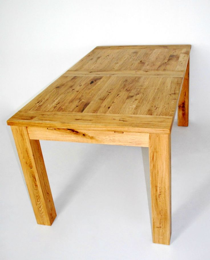 solid oak extendable Table -Madrid