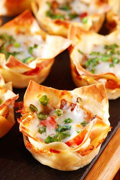 Spicy Italian Ham & Cheese Cups