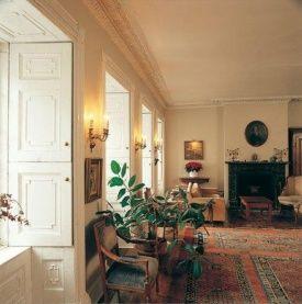 Le salon mis en place par Louis-Joseph Papineau