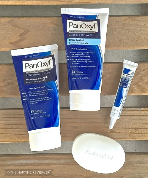 The NapTime Reviewer: Break The Acne Cycle | PanOxyl #giveaways