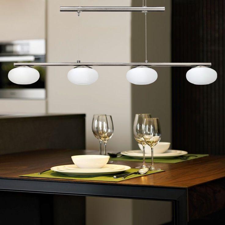 Luxury LED W Decken H nge Pendel Lampe Wohn Zimmer K chen Leuchte H hen Verstellbar