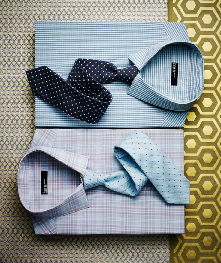 Bar III dress shirts and ties — connect the dots
