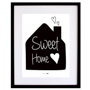 "Lámina ""Sweet Home"""