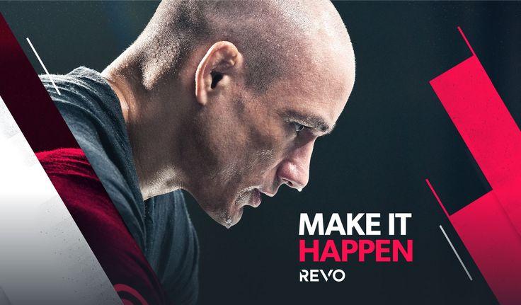 REVO Gym — Branding on Behance