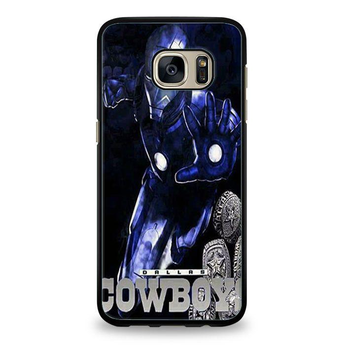 Dallas Cowboys Iron Man Samsung Galaxy S7 Edge | yukitacase.com