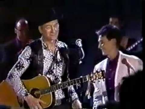"Stompin' Tom Connors, 1990, ""Lady K D Lang"" & ""CA-NA-DA . Born	February 9, 1936 Saint John, New Brunswick,  Origin Timmins, Ontario,  Died	March 6, 2013 (aged 77)  Ballinafad, Ontario"