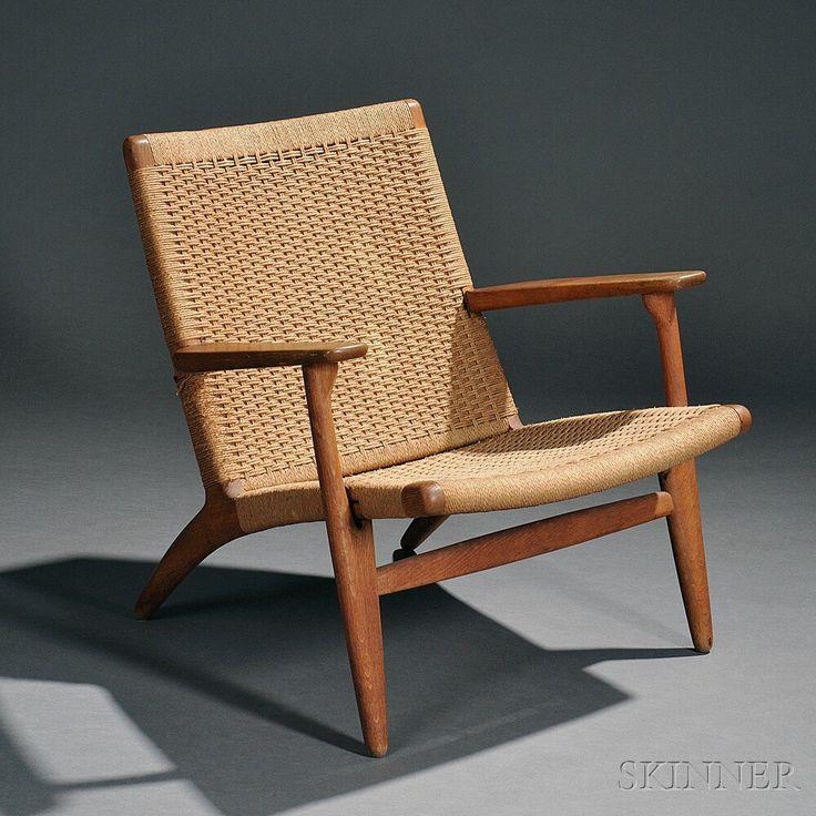 Early Hans Wegner (1914-2007) Easy Armchair | Sale Number 2770B, Lot Number 335 | Skinner Auctioneers