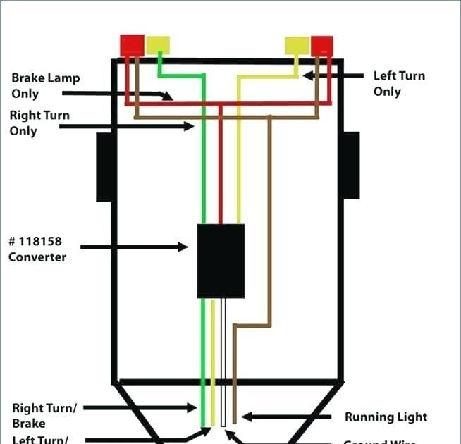 Wiring Diagram For Trailer Light 4 Way With Images Trailer