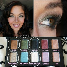 Agape Love Designs: EOTD With Urban Decay's Ammo Palette