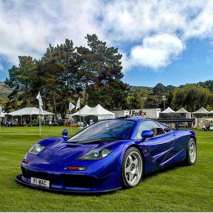 mclaren f1 lm blue - photo #16