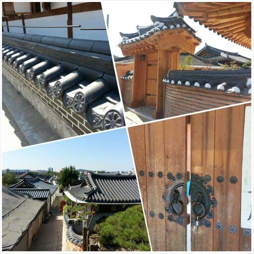 전주 한옥 마을 Traditional Korean Hanok Village