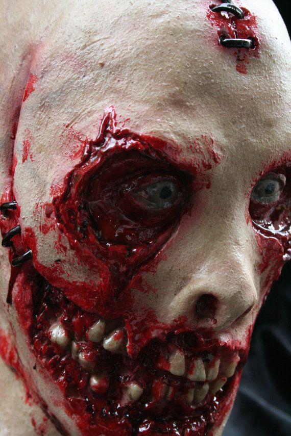 Bloody Horror Face Mask by RevenantFX on Etsy, $150.00  #americanhorrorstory #bloodyface