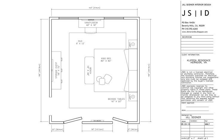 Herndon Va Online Design Project Master Bedroom