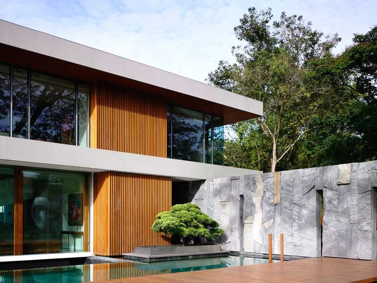 A Home built around Gatherings and a Rain Tree
