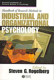 Organizational Research methodology books | ... of Research Methods in Industrial and Organizational Psychology