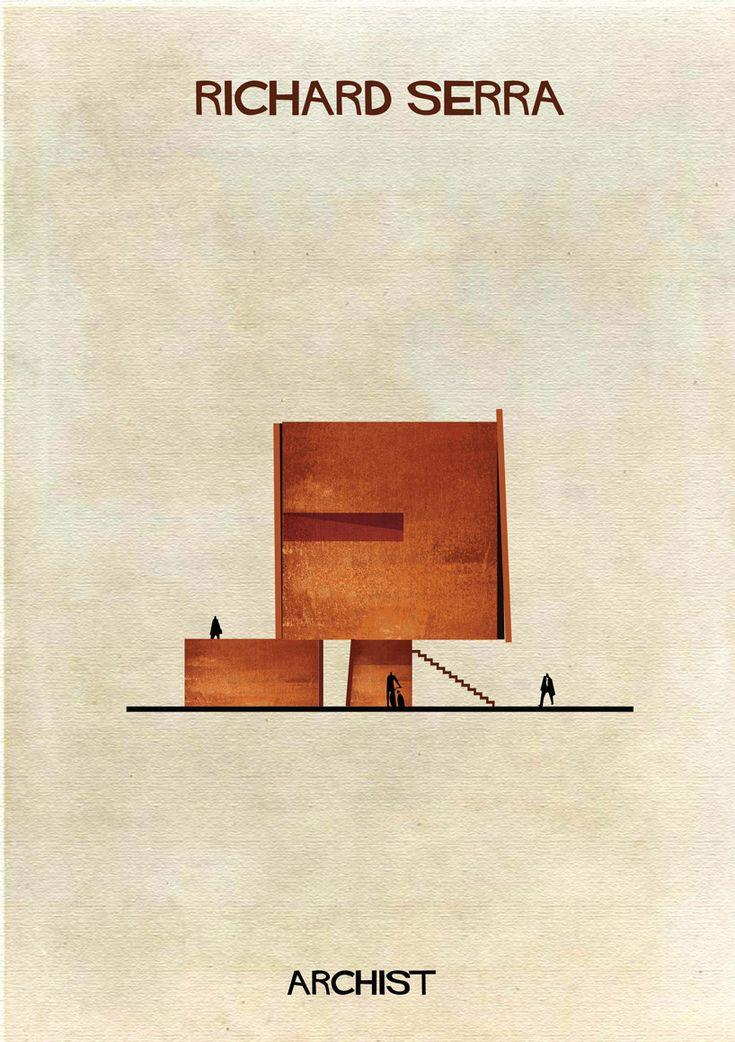 Galería - ARCHIST: Ilustraciones Famosas de Arte Reimaginadas como Arquitectura - 41