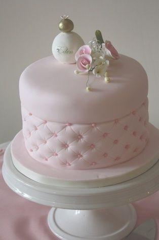 Birthday, baby or bridal shower cake