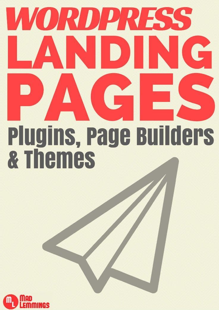 WordPress Landing Pages - what options do you have when it comes to landing pages. Find out the tools, plugins and themes you could use. #wordpress #blog