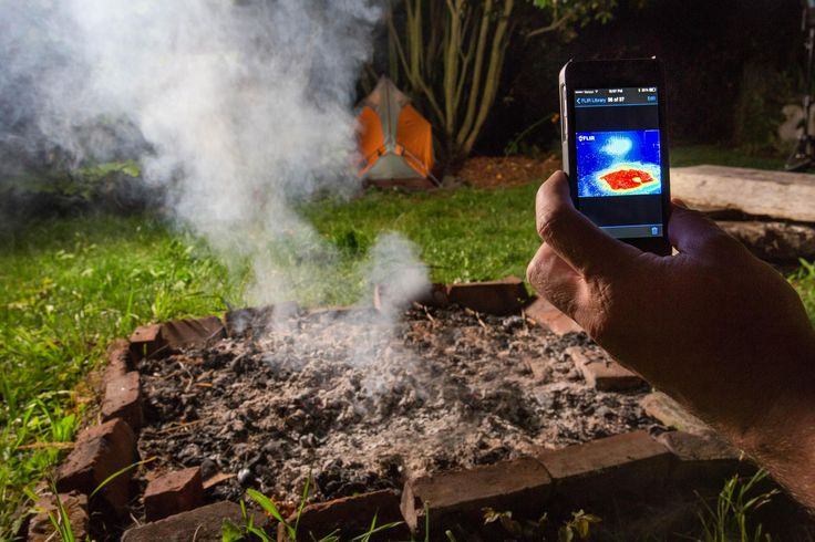 The FLIR ONE is a compact thermal imaging camera attachment for your iOS on or Android smartphone which allows you to see the world in a whole new way.  Long only available for professional and military applications, infrared cameras like the FLIR ONE are not only cool, but highly functional.  For the outdoors, you can observe wildlife and navigate trails in complete darkness, or ensure a more restful night by checking your campsite for animals.  For the homeowner, use it to locate areas…