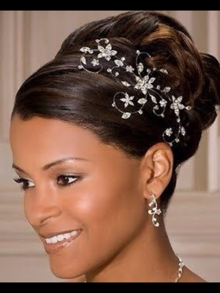160 best bride styles images on pinterest hairstyle wedding side wedding hair stylesblack pmusecretfo Image collections