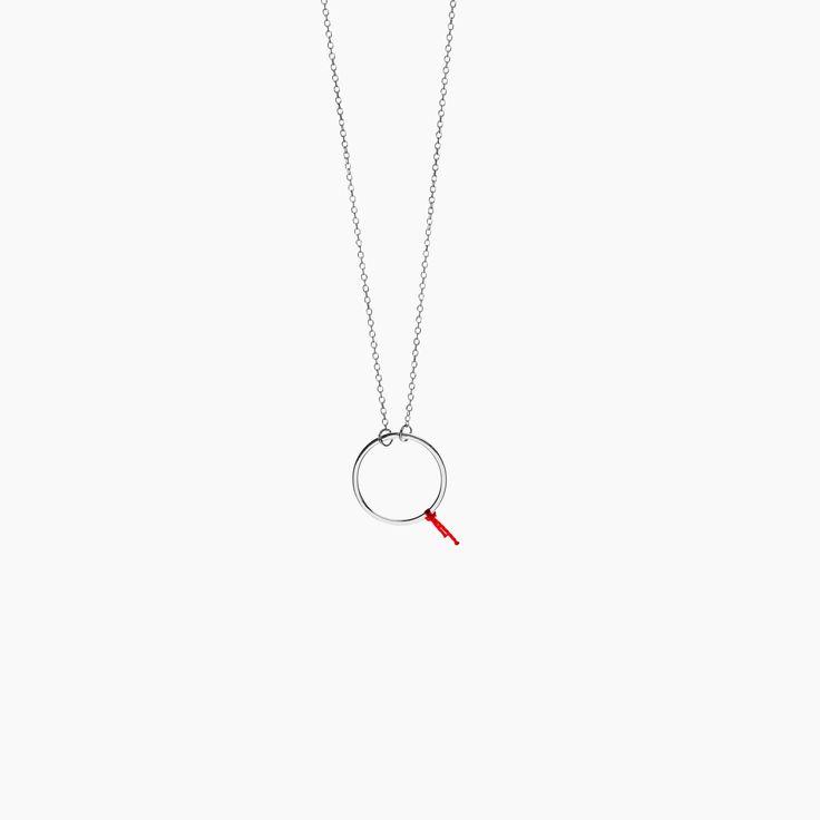 Minty dot - 100% pozytywnych emocji Karma Buckler naszyjnik srebrny , Buckler , Kolekcje