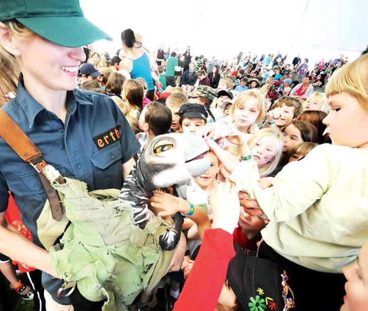 Okanagan International Children's Festival held in May in Penticton, BC