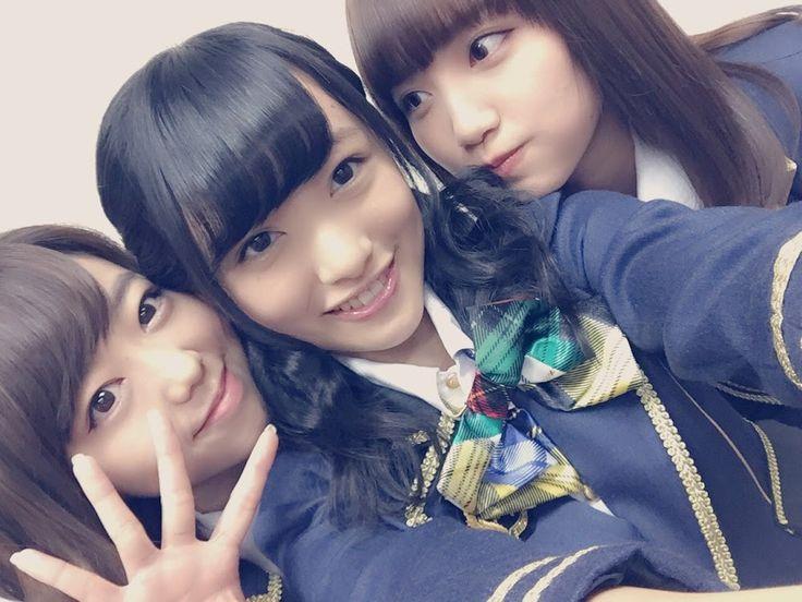 Minegishi Minami (峯岸みなみ) ; Mukaichi Mion (向井地美音) ; Kato Rena (加藤玲奈) #Google+ #gravure #AKB48 #mukaichi Mion #Team4 #jpop #idol
