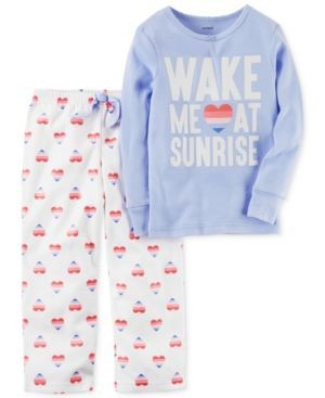 Carter's 2-Pc. Sunrise Pajama Set, Little Girls (2-6X) & Big Girls (7-16) - Multi 6