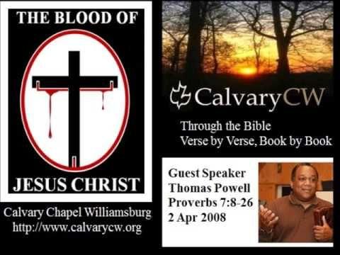 OT329 Proverbs | Calvary Chapel Bible College