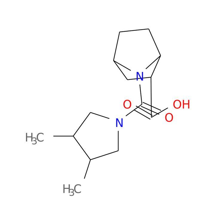 7-(3,4-DIMETHYLPYRROLIDINE-1-CARBONYL)-7-AZABICYCLO[2.2.1]HEPTANE-2-CARBOXYLIC ACID is now  available at ACC Corporation