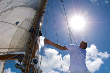 How to travel the world by crewing on yachts