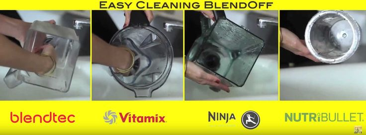 Best Blender For Blender Cleaning Blend Off between Blendtec Blender models, Vitamix Blender models, Nutribullet blender models, and Ninja Blender models. Read a short review about which blender is the best blender for blender cleaning.