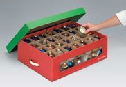 Christmas Ornament Storage Box With 40 Compartments | Christmas Ornament Storage Boxes