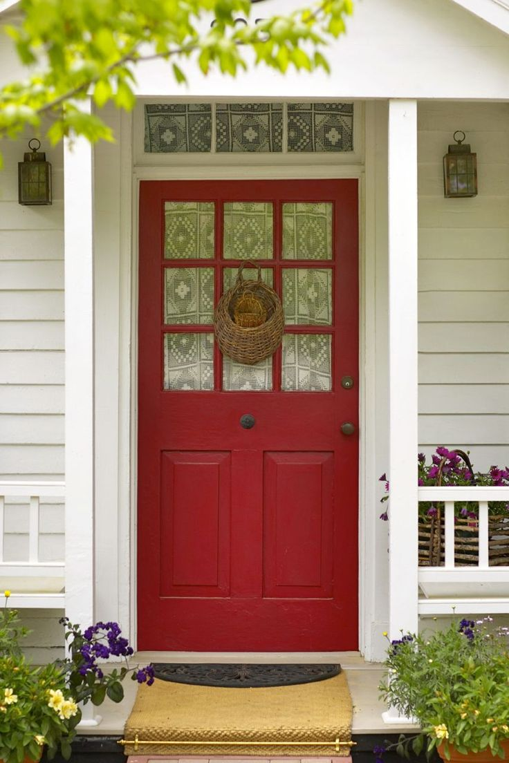 18 best red door images on Pinterest | Red doors, Facades and ...