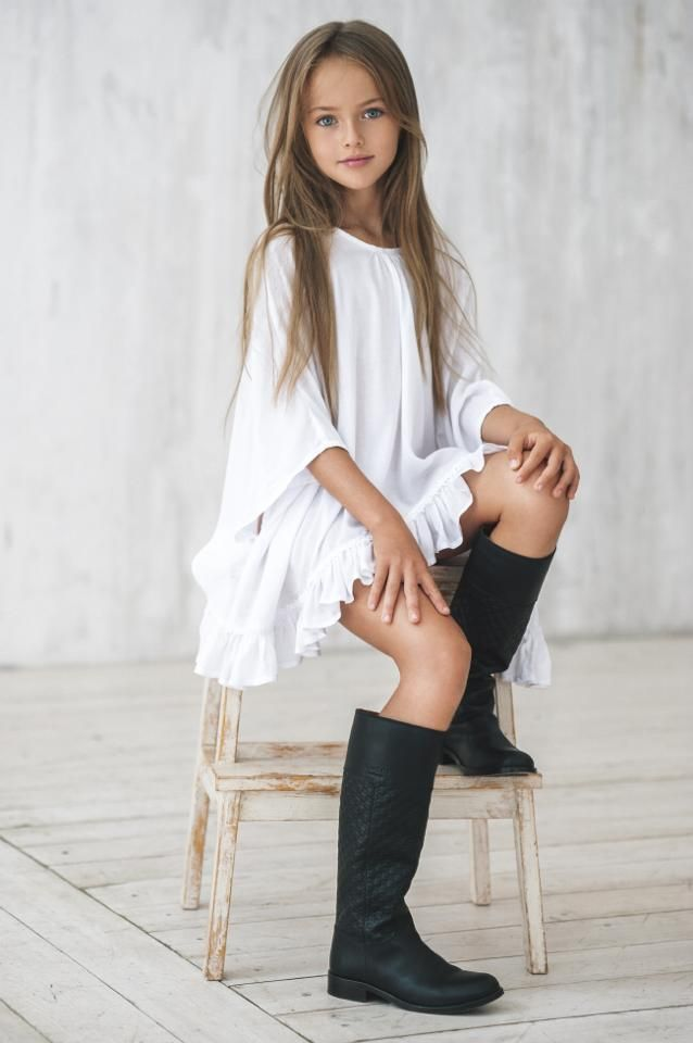 Voici la plus belle fille du monde ! Les plus grands noms de la mode s'arrachent cette mannequin... et elle n'a que 9 ans...